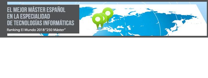 El ranking de «El Mundo» destaca el Máster Interuniversitario Erasmus Mundus en Tecnologías Geoespaciales entre los mejores de España